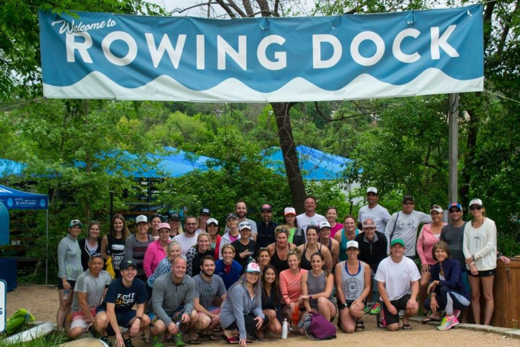 Rowing Dock Flatwater Foundation