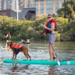 Austin SUP with your dog