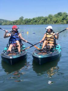 Pedal Kayaking Lady Bird Lake Austin